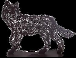 Loup Noir PM 40cm