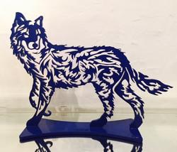 Loup PM bleu