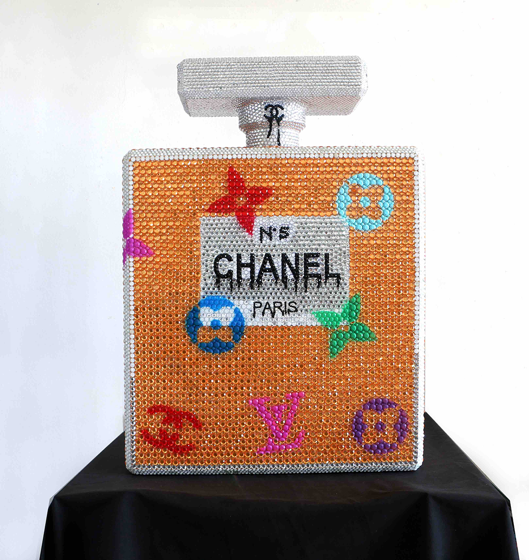 CHANEL AND MARILYN 79X57X20CM