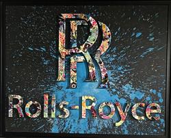 ROLLS-ROYCE 80X100CM