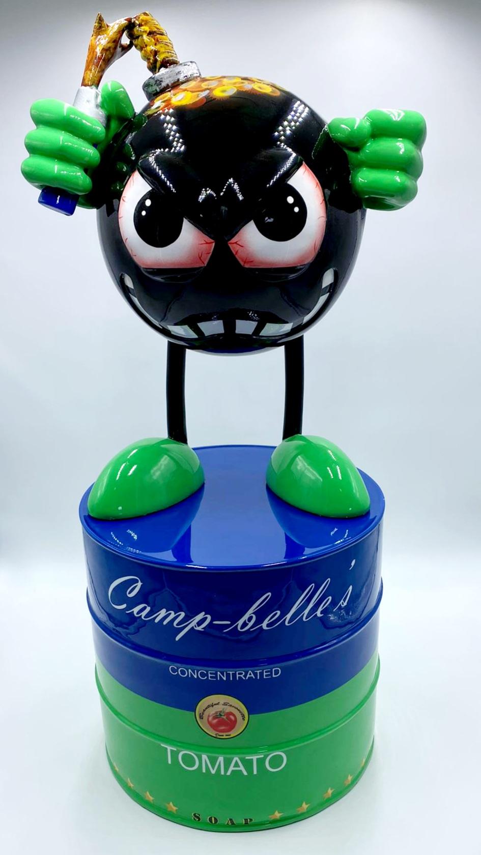 Miss Bomb Camp Belles Blue 70CM