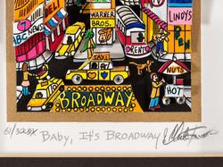 Baby, It's Broadway (détail)