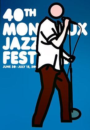 Julian Opie - Montreux Jazz 2006 (Blue)