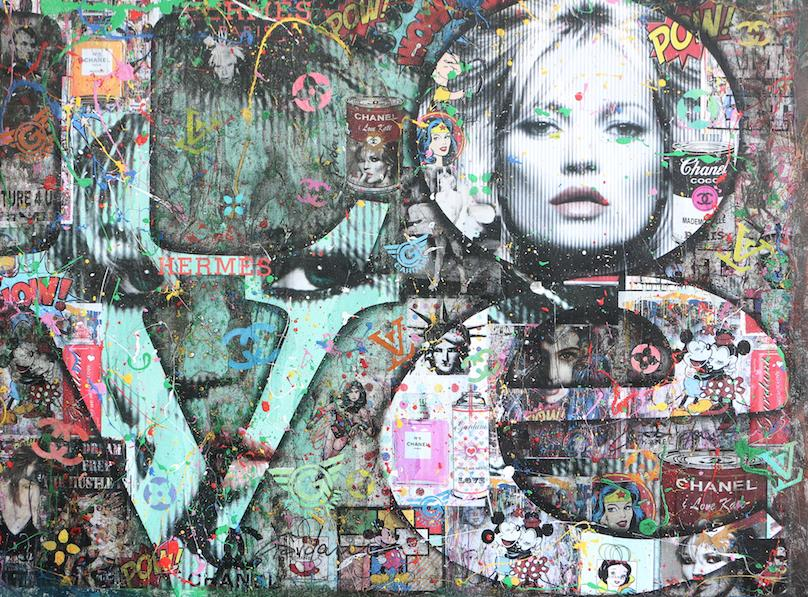 KATE MOSS IS LOVE 76X101,5CM