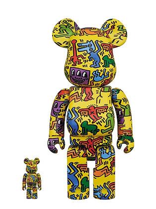 Bearbrick Keith Haring #5 400% + 100%