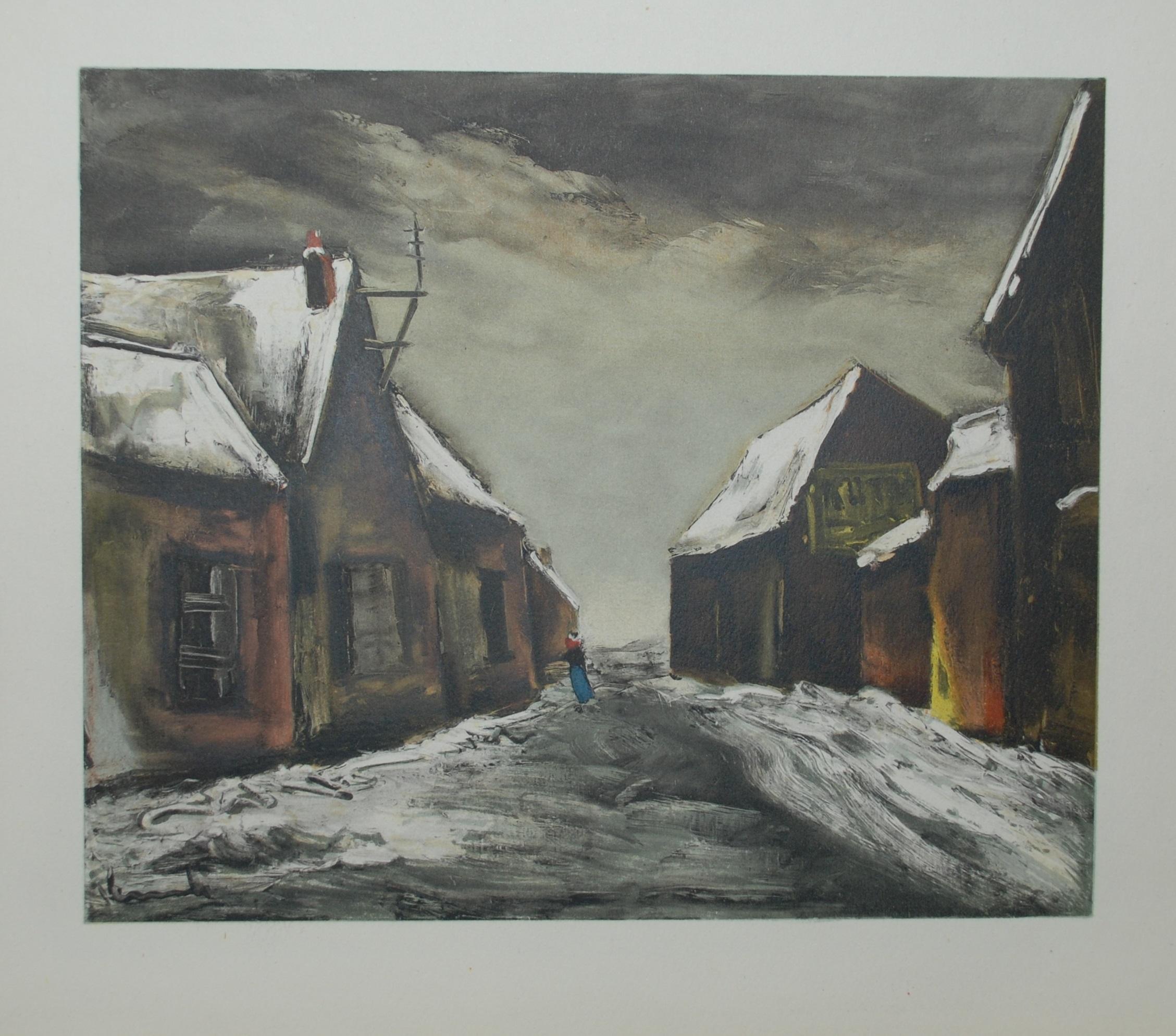 La Maladrerie sous la neige