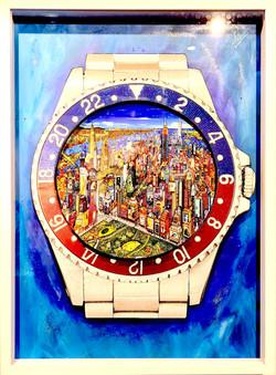 Rolex GMT Master NYC 72X52CM