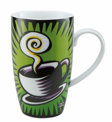 Coffee Break Green Mug