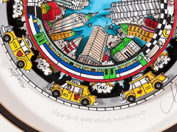 New York goes Round (détail)