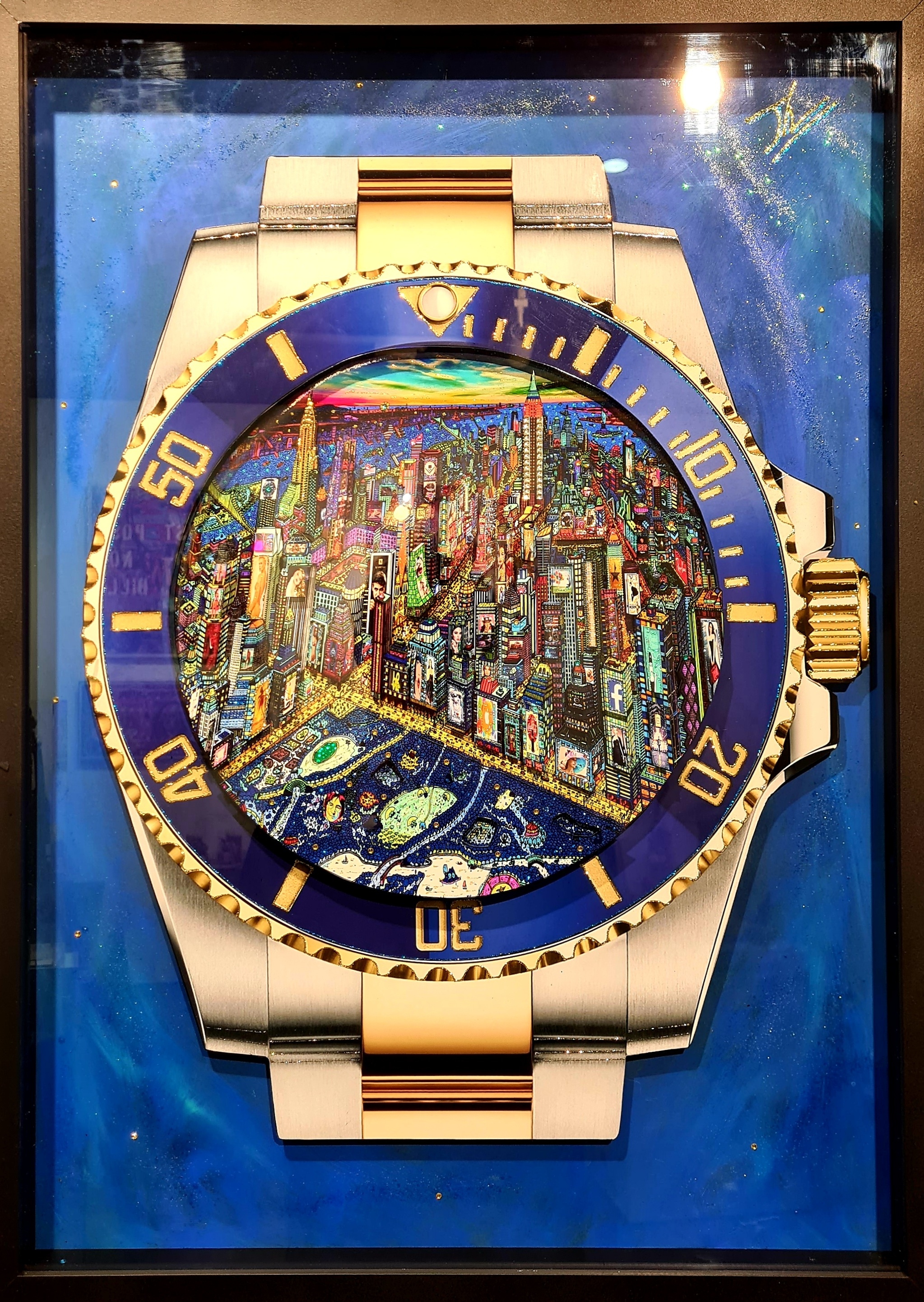 Rolex New York City by Night 72X52CM