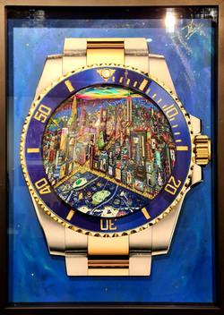 Rolex New York City by Night 72X52CM