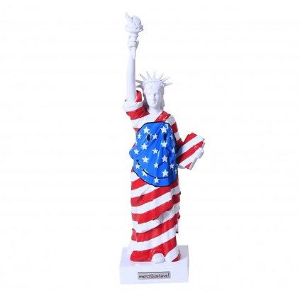 Miss Liberty Smiley Stars & Stripes
