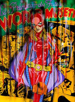Spark-catwoman 200X150CM