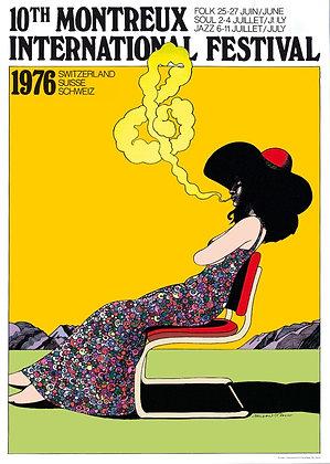 Milton Glaser - Montreux Jazz 1976