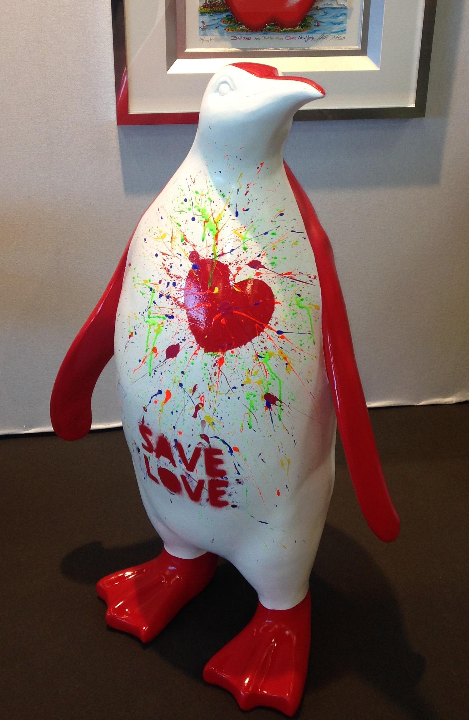 SAVE LOVE 100X66X43CM