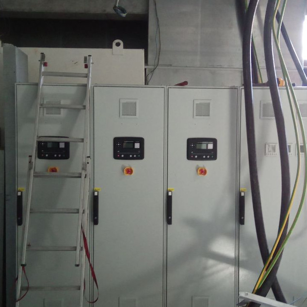 Installation of control panels