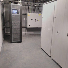 installation of battery cabinets