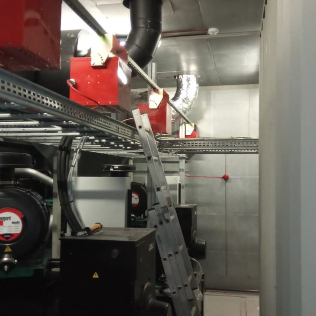 installation of fire system