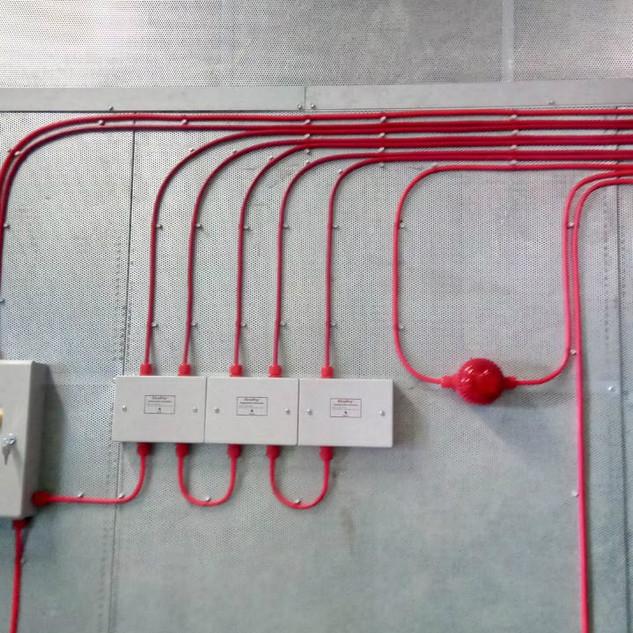 installation of fire panel