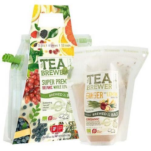 TEA BREWER Ginger and Lemon 3個セット
