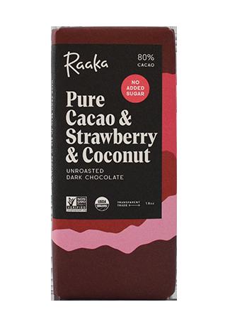 Raaka Pure Cacao & Strawberry & Coconut ラーカ ピュアカカオ&ストロベリー&ココナッツ