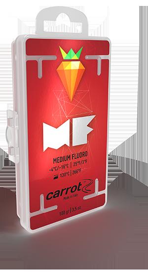 MEDIUM-FLUOR RED