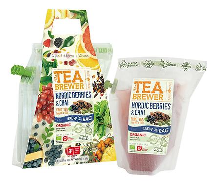 TEA BREWER Nordic Berries & Chai 3個セット
