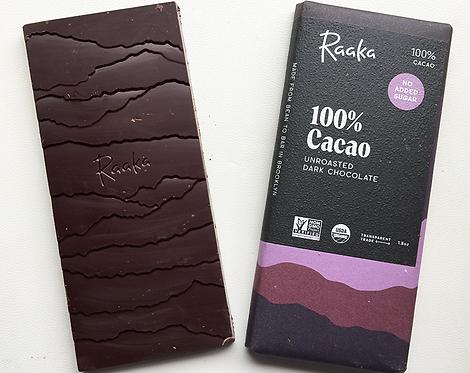 Raaka 100% Cacao ラーカ 100%カカオ