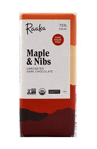 Raaka Maple & Nibs ラーカ メイプルアンドニブ