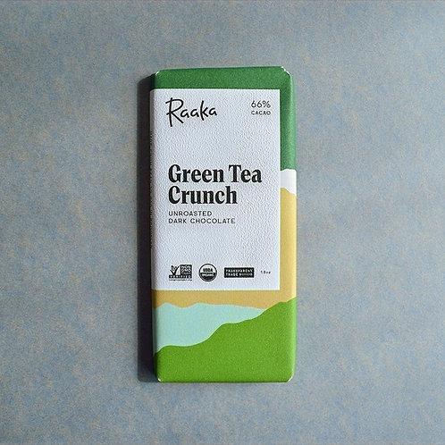 Raaka Green Tea Crunch ラーカ グリーンティクランチ