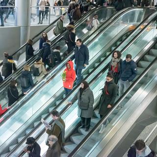 Chaperon rouge dans le métro