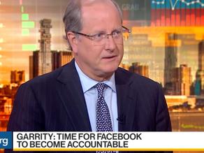 David Garrity on Bloomberg TV: Growing Scrutiny Over Big Tech