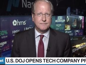 David Garrity on Bloomberg BNN: Big Tech has gotten itself into a bad position