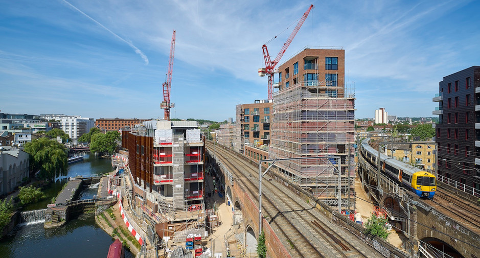 Superstructure nearing completion on 14th June 2018