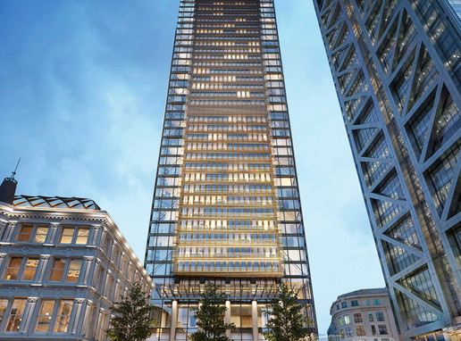 One Bishopsgate Plaza - First high rise residential & hotel in City of London in many years