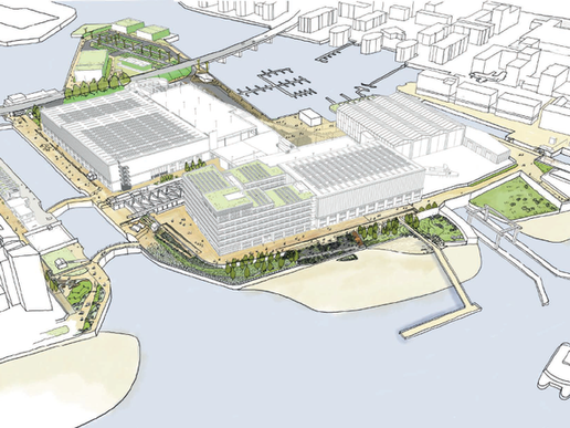Planning Approved for £300m Albert Island Regeneration