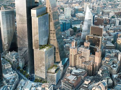 Construction Soon to Progress Above Ground Level at 8 Bishopsgate in the City of London