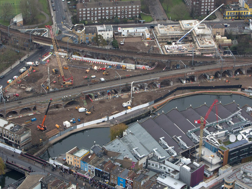 Case Study - Camden Lock Village, the risks of working adjacent to and below live railways.