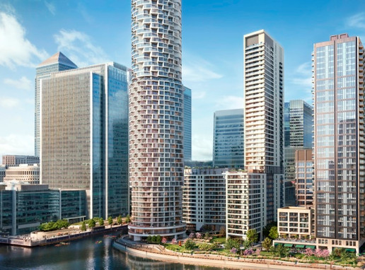 Wood Wharf - The First Residents to Live at Canary Wharf