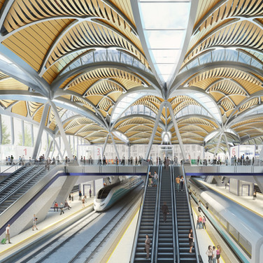 HS2 - Euston Station
