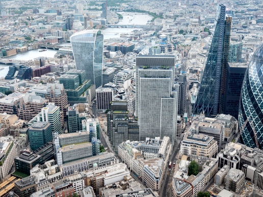 Piling commences at 40 Leadenhall Street in the City of London