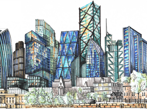 Tall Buildings to Drive London's Economic Recovery