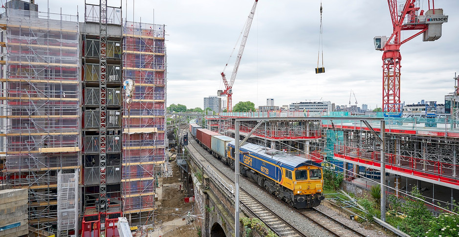 The view from trains changed forever by 24th May 2017