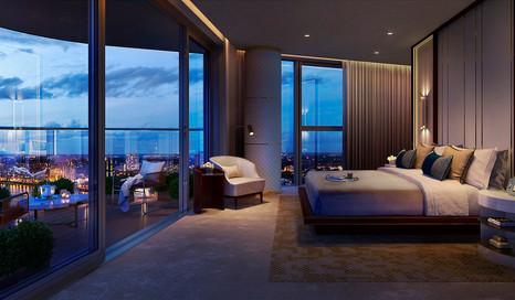 Chelsea Waterfront Bedroom