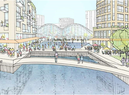 £1bn Convoys Wharf granted planning