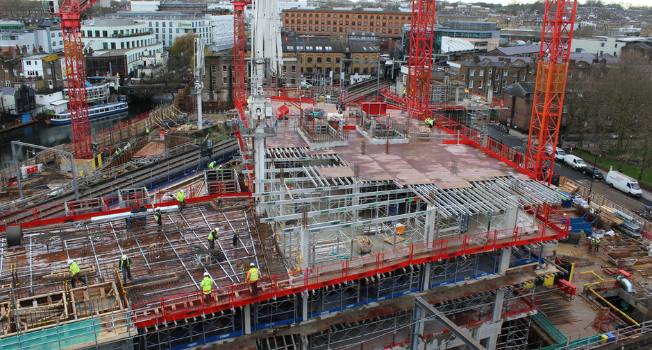 Superstructure progress on 13th January 2017