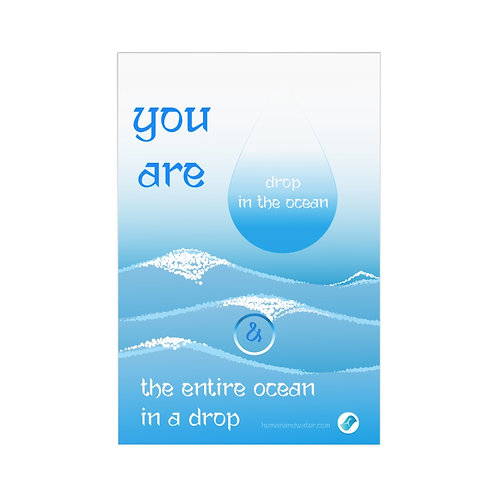 Drop in the ocean ... Postcards (7 pcs)