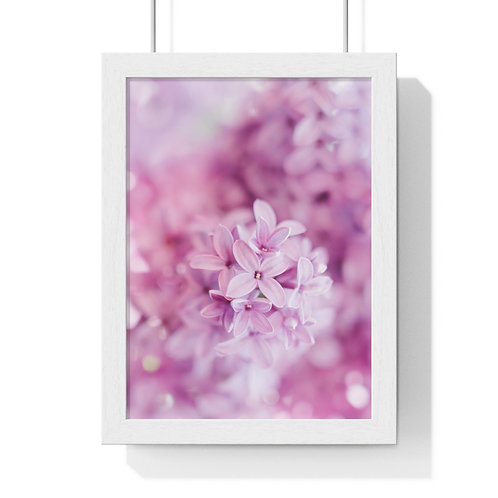 """Beauty in pink ""Premium Framed Vertical Poster"