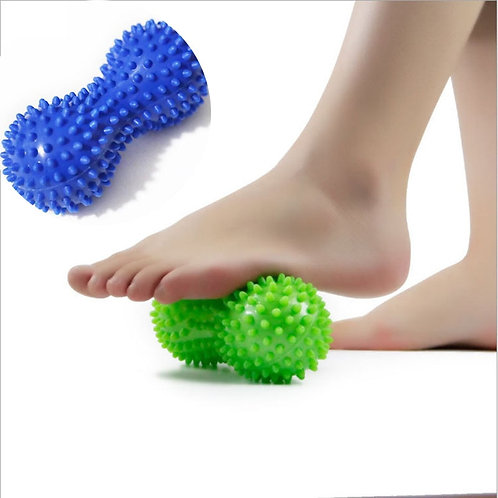 Peanut Shape Massage Yoga Sport Fitness Ball Durable
