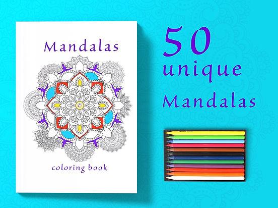 Mandalas - coloring book